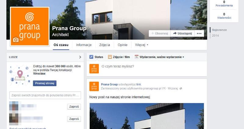 Prana Group Facebook