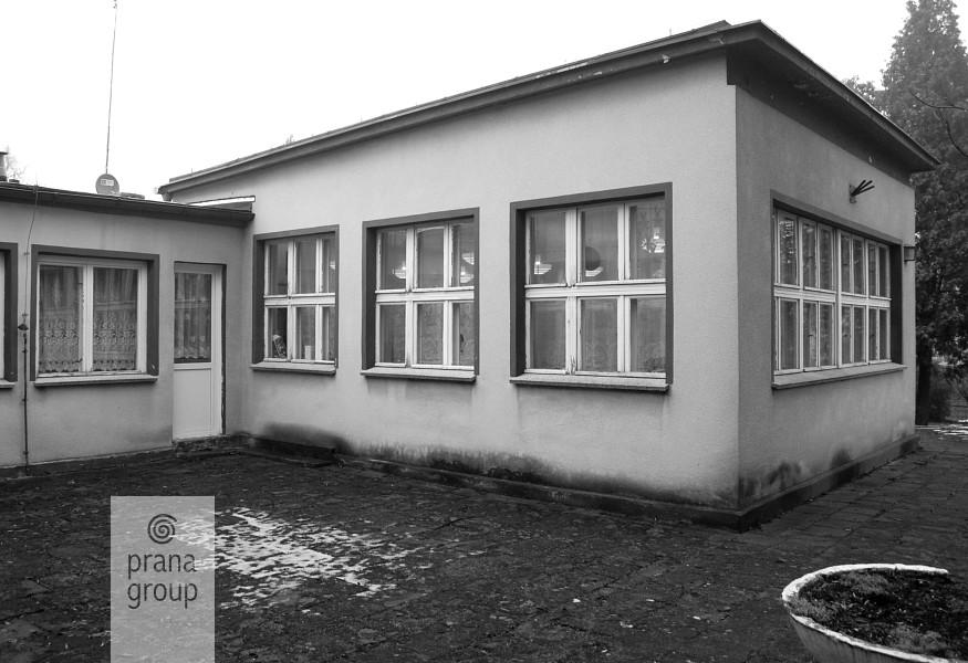 Przedszkole w Miliczu -- pawilon dziecięcy przed przebudową